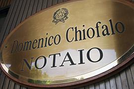 Notaio Chiofalo